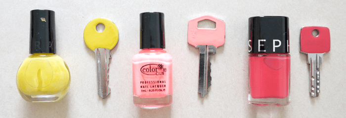 recycler ses vernis