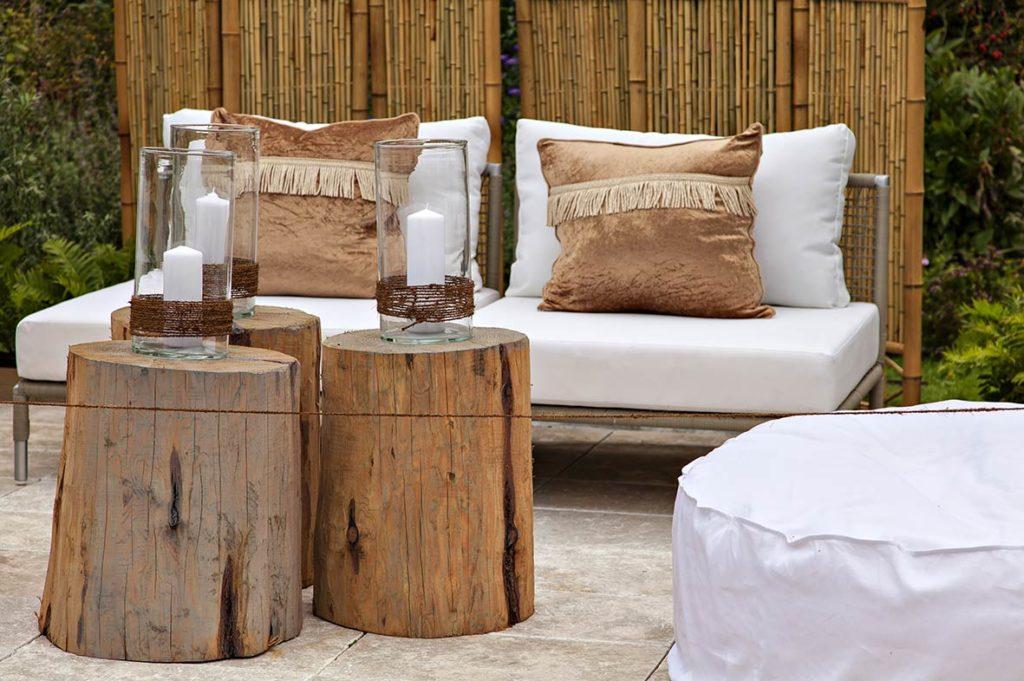 Votre déco jardin DIY avec des rondins de bois ! - City Plante guide ...