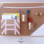 Guide pour réaliser un organiseur mural 100% maison !