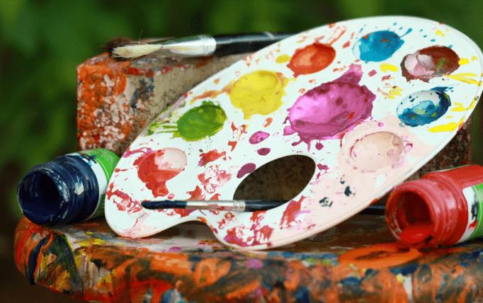 Comment utiliser la peinture au doigt?