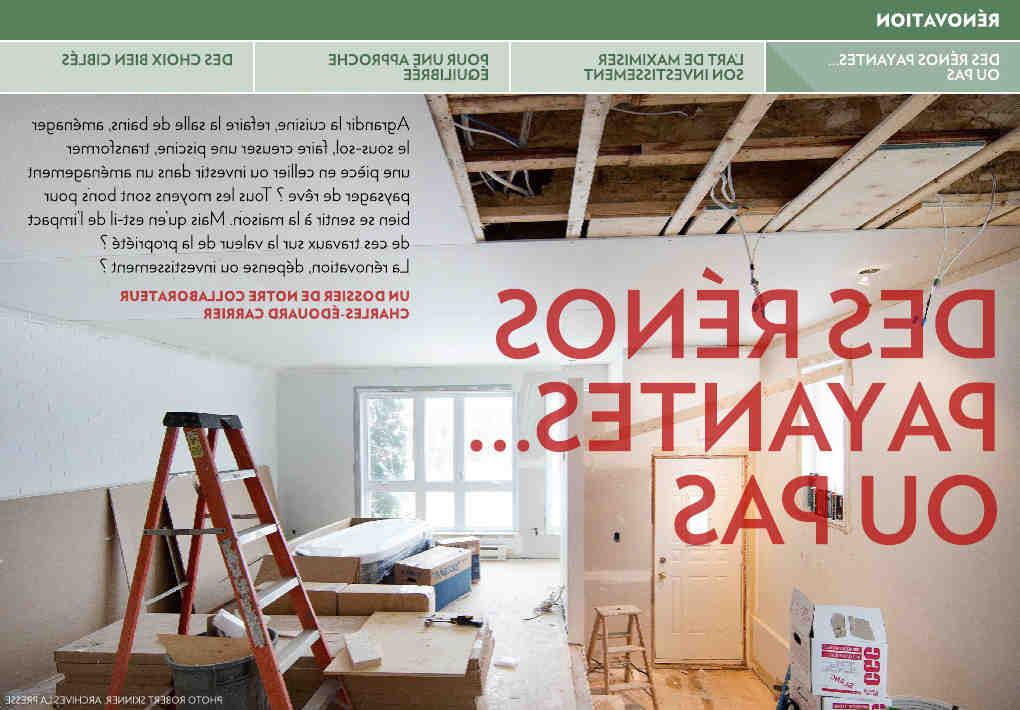 Comment rénover un ancien appartement?